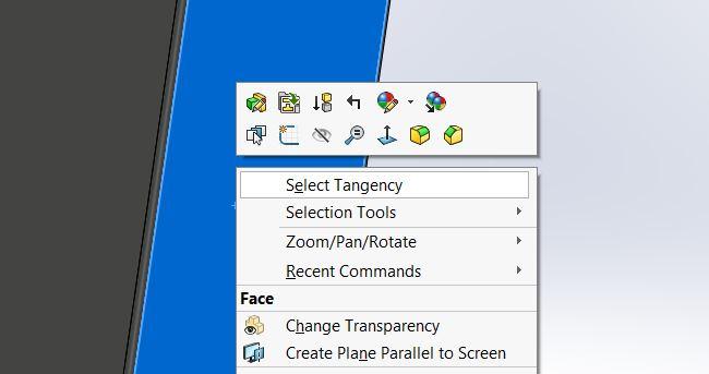 select-tangency