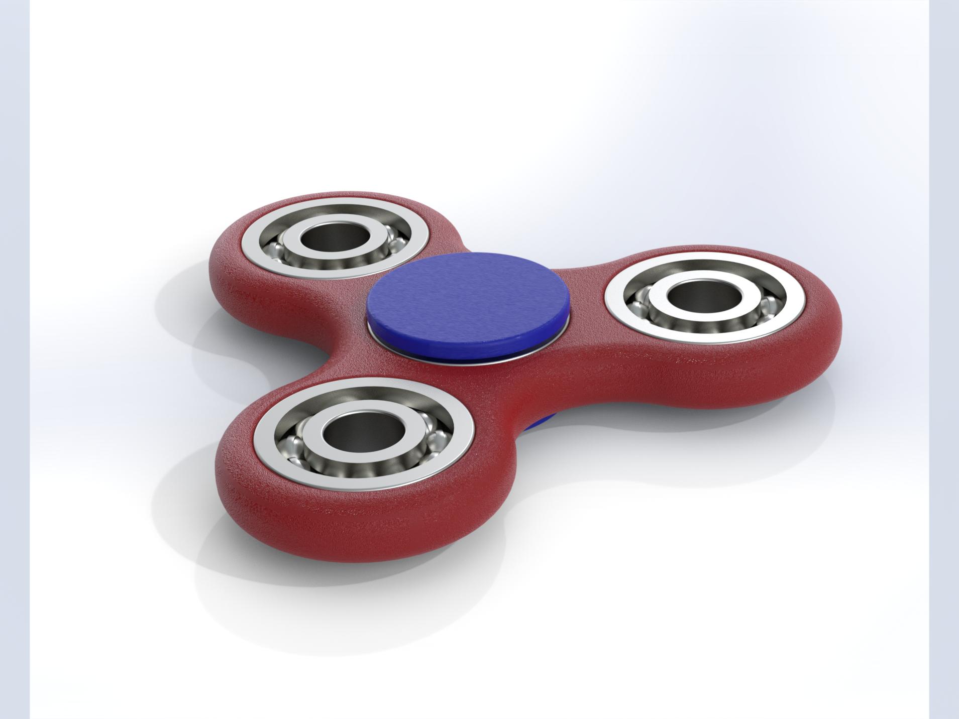 fidgetspinner solidworks